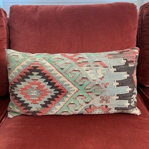 Kilim pillow bolster with Insert